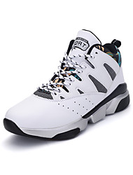 Running Shoes / Casual Shoes Women's Anti-Slip / Wearproof Low-Top Leisure Sports White / Jogging / Basketball