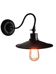 Max 60W Loft vintage Industrial Wall Lights Simplicity Wall Sconce Metal Base Cap Light Direction Adjustable