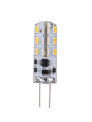 2 G4 Luces LED de Doble Pin Tubo 24 SMD 3014 144 lm Blanco Cálido / Blanco Fresco Decorativa AC 12 V 1 pieza