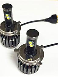 le nouveau conduit cree voiture phare h11 / h4 / h7 / 9005 phare de remplacement caché au xénon