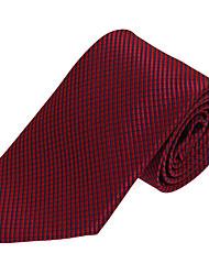 Men Wedding Party Business Necktie Tie Polyester Silk