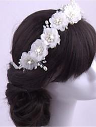 Women's Imitation Pearl / Chiffon Headpiece-Wedding / Special Occasion Headbands 1 Piece