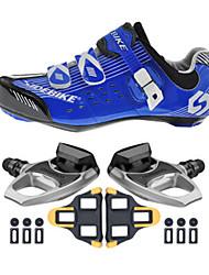 sidebike Fahrradschuhe Unisex im Freien / Rennrad Sneaker Dämpfung / Polsterung Blau