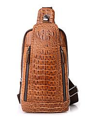 Для мужчин Полиуретан На каждый день Слинг сумки на ремне