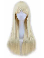 belle profondeur perruques bordeaux cosplay perruque rose cheveux longs bruns perruque droite femmes blondes résistants à la chaleur