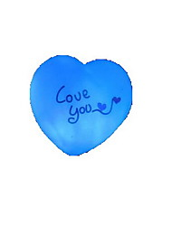 Colorful Heart-Shaped Night Light LOVE YOU Colorful Flash Lights