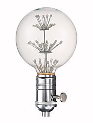 youoklight e27 lampe de couleur 3w g80 enveloppe ampoule décorative et lampe titulaire combinaison vendre 220v