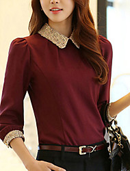 Women's Fashion Elegant Chiffon Blouse (More Colors)