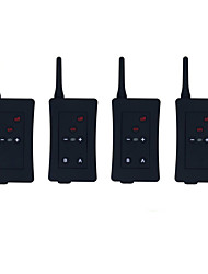 Football Referee Intercom Headset Vnetphone FBIM 1200M Wireless Full Duplex Bluetooth Interphone with FM