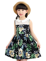 Girl's Casual/Daily Print DressOthers Summer Multi-color