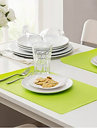 Acrylique Rectangulaire Sets de table