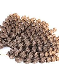 3pieces Bouncy Curl Twist crochet Braids Hair Extensions 12 inch  Kanekalon 20 Strand 80 gram Hair Braids