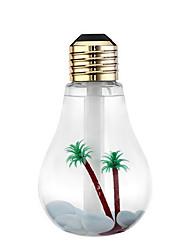 USB Ultrasonic Humidifier Mini Aromatherapy Colorful LED Night Light Bulb Aromatherapy Atomizer Creative Bottle