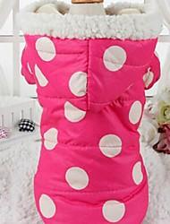 Lovely  Polka Dots Keep Warm Pet Hoodie