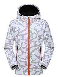 Randonnées Veste Softshell UnisexeEtanche / Respirable / Garder au chaud / Séchage rapide / Pare-vent / Vestimentaire / Tissu Ultra Léger