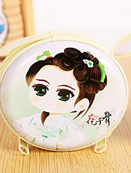 Are Selling Cute Cartoon Flower and Bone Purse Wallet Girl Student Headset Macarons Coin Bag