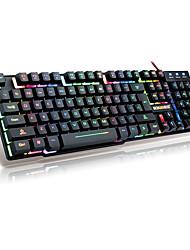 kay macchinari CF sentire lol desktop di gioco portatile sospensione tastiera cavo USB Light metal