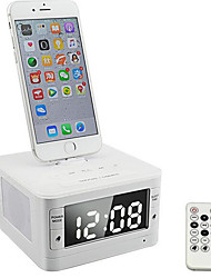 T7 MOZUO Alarm Clock Bluetooth Speaker Phone Charging Dock Car Audio