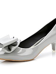 Women's Heels Spring / Summer / Fall Heels / Pointed Toe / Closed Toe  Casual Low Heel Bowknot  Walking