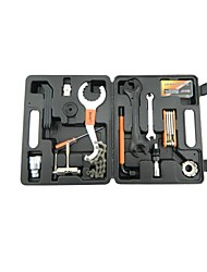 Bicycle repair tool set