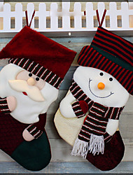 Christmas Socks Supplies Christmas Stockings on Christmas Day Christmas Socks Ornaments Santa Socks
