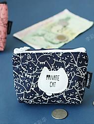 South Korea Daily Supplies Wholesale Blue Cat 2 - a Small Zero Purse Key Bag