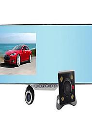Allwinner 720p DVR para Carro 4.3 Polegadas Tela Câmera Automotiva