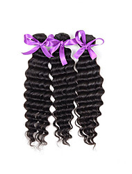 Malaysian Deep Curly Human Hair  Virgin Hair Extensions Malaysian Curly Hair 3 Bundles Kinky Curly Virgin Hair