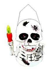 1PC Halloween Pumpkin Lamp Children Toy  Ghost Called Decorated Pumpkin Lamp