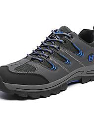 Homme-Extérieure-Marron / Vert / Gris-Talon Plat-Confort / Bout Arrondi-Chaussures d'Athlétisme-Tulle / Polyuréthane