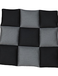 AUTOYOUTH Breathable Mesh Fabric Seat Cushions Universal Fit Cover Most Car Seats Black and Gray Car Styling