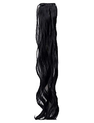 19 inch Clip in Synthetic Hair Extensions Hair Pieces 3 Colors Available