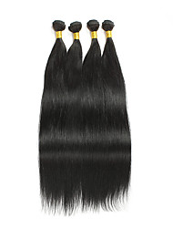 Brazilian Virgin Hair Natural Colour Human Hair Extension Straight Hair 10-28Inch 4Pcs Can Be Dyed