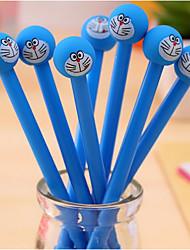 10 PCS doraemon Black Ink Gel Pen