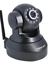 Foscam 0.3Mega PT Indoor IP Camera with Day Night Motion Detection Remote Access Free DDNS