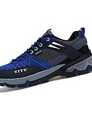Homme-Extérieure-Jaune / Vert / Rose / Violet / Kaki-Talon Plat-Bout Arrondi-Chaussures d'Athlétisme-Tulle