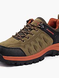 Femme-Extérieure-Marron Vert Gris-Talon Plat-Confort-Chaussures d'Athlétisme-Polyuréthane
