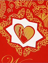 Hochzeit kreative Ehe Bevorzugungstaschen Hochzeit Süßigkeitstaschen Hochzeit Süßigkeiten Taschen Hand ein Paket von zehn 19,5 * 8,5 *