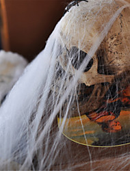 coton Web populaire en plastique drôle d'araignée pour Halloween décoration de fête accessoires bar scene