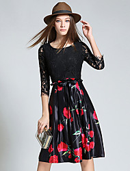 Women's Going out / Party/Cocktail / Holiday Vintage / Street chic / A Line Dress