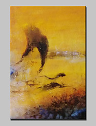 Hand Painted Modern Abstract Oil Painting On Canvas Wall Art Picture For Home Decoration With Stretched Framed