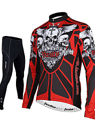 Tasdan Cycling Wear Cycling Clothes Cycling Jersey Sets Long Sleeve Suits Men Clothing Pants Warm Soft Bike Wear