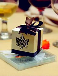 12 Peça/Conjunto Titular Favor-Cúbico Papel de CartãoCaixas de Ofertas Bolsas de Ofertas Latinhas Lembrança Jarros e Garrafas para Doces