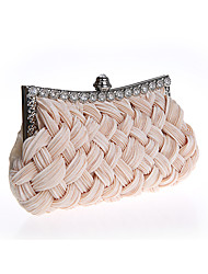 Women Sweet Lady Weaving Silk Wedding Bride /Evening Bag Lady /Hand bag/Clutch