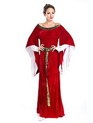 Disfraces Más Vestidos Halloween Rojo Un Color Terileno Vestido / Más Accesorios