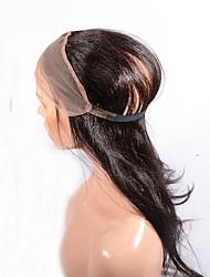 360 Lace Frontal Brazilian Full Frontal Closure Baby Hair Custom 360 Frontal Band Straight Hair Natural Hailine
