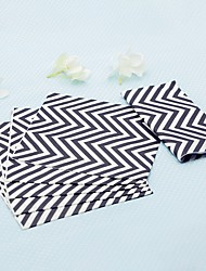 10pcs/Pack - Paper Napkins Beter Gifts Geometric / Bridesmaids / Children's Day / Bachelorette Party Supplies