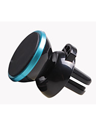 Vehicle Mounted Mobile Phone Navigation Bracket / Air Outlet Magnetic Car 360 Degree Magnetic Rotating Magnet Support
