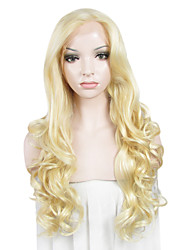 IMSTYLE 26Blonde Long Beautiful Wave Synthetic Lace Front Wigs Imported From China