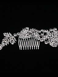 New Style Top Grade Long Style Flowers Comb